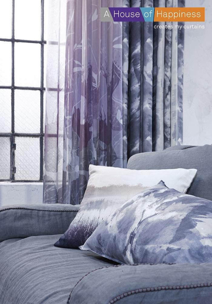 die ungew hnliche bunte gardine waterlily 129 heimtex ideen. Black Bedroom Furniture Sets. Home Design Ideas