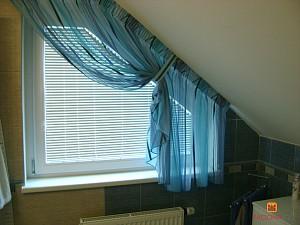dekorative abschirmung der atypischen fenster im badezimmer heimtex ideen. Black Bedroom Furniture Sets. Home Design Ideas