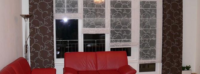 verbindung der japanischen wand und des raffrollos heimtex ideen. Black Bedroom Furniture Sets. Home Design Ideas