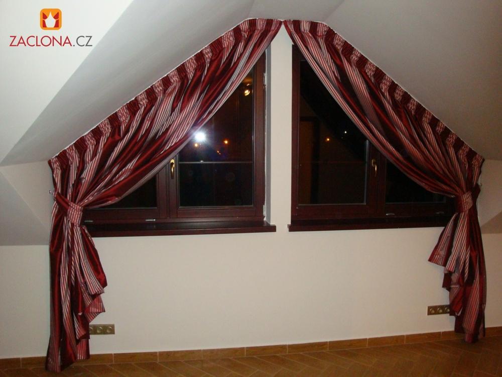 vorh nge f r atypische fenster heimtex ideen. Black Bedroom Furniture Sets. Home Design Ideas