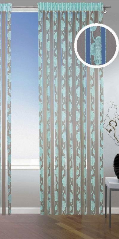 vorh nge t rkis braun m belideen. Black Bedroom Furniture Sets. Home Design Ideas