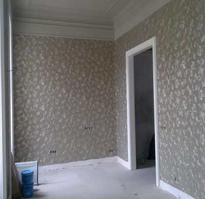 hotelzimmer mit luxurisen tapeten - Wohnzimmer Tapeten 2015
